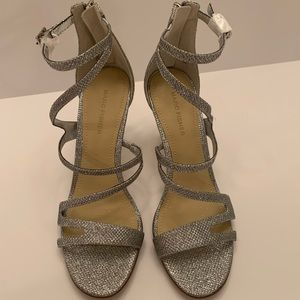 Marc Fisher Silver Heels